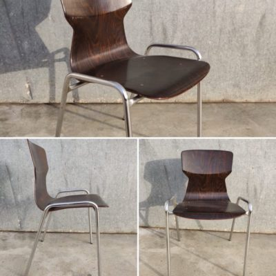 chrome antiques pagholz pagwood vintage retro industrial design stoelen chaises stolar_thegoodstufffactory_be