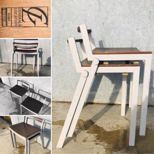 ogaoga cafe INTERIOR RETRO vintage factory chair desk stool_thegoodstufffactory_be