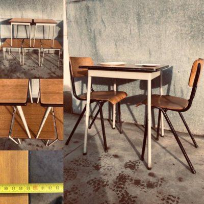 koffietafel bistro tafel retro vintage retro_thegoodstufffactory_be