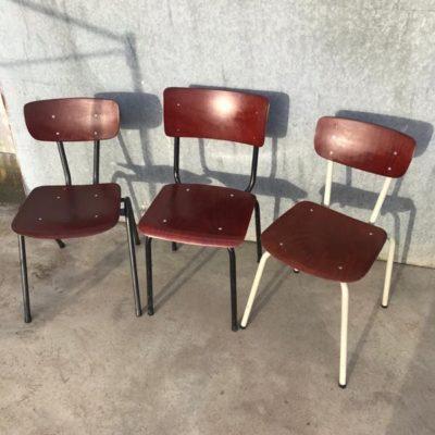PAGHOLZ stoelen setje van 3 vintage retro sixties seventies_thegoodstufffactory_be