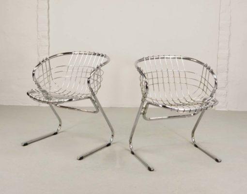 gASTONE rINALDI sABRINA EN fLYNN vintage retro stoel stolar kinderstoel chaise enfant école_thegoodstufffactory_be