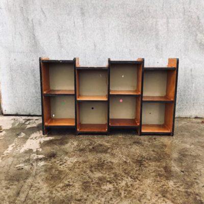 Sixties retro vintage VERNIS wall cabinet design cabinet _thegoodstufffactory_be