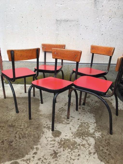 sixties retro vintage formica chaises hautes chaises enfants_thegoodstufffactory_be