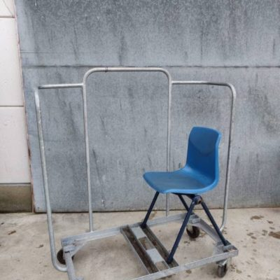 TRANSPORT CART tablo catering olay retro vintage industrial_thegoodstufffactory_Be