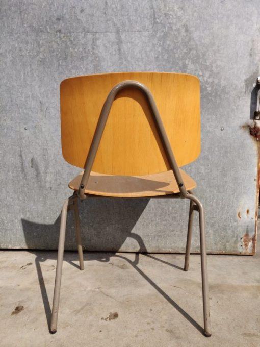 marko stoel chaise dutch design stool canteen bar barista vintage industrial antiques_thegoodstufffactory_be