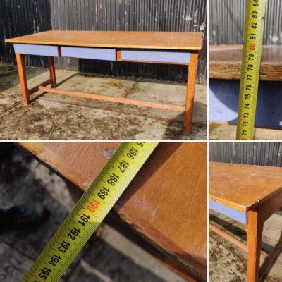 DESK TABLE vintage retro ostalgie antiques_thegoodstuffildory_be