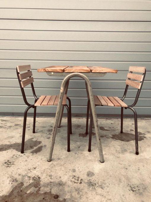 chaises d'extérieur chaises d'extérieur recyclé énergie verte extérieur d'intérieur reconditionné vintage ostalgie sixties vedett_thegoodstufffactory_Be