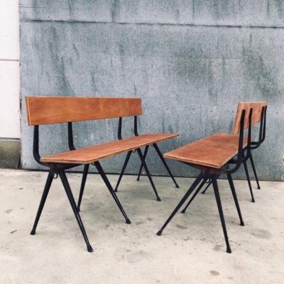 Friso kramer ahrend the duara satu chair seat paris vintage retro ostalgie banc sofa sange