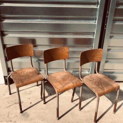 oldschool vintage retro ostalgie industrial raw material sixties canteen chair_thegoodstufffactory_be