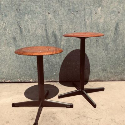 pagholz CANTEEN STOOL KRUK TABOURET vintage retro sixties seventies_thegoodstufffactory_be