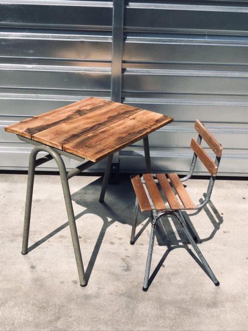 terrasse extérieure chaises vedett extérieures cantines de brasserie