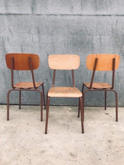 canteen chair chaise café horeca resto kantine bar barista bistro koffiebar retro vintage ostalgie industrial antiques_thegoodstufffactory_be