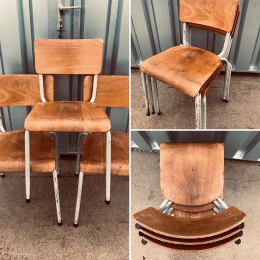 industrial stapelstoelen canteen chair chaise café horeca resto kantine bar barista bistro koffiebar retro vintage ostalgie industrial antiques_thegoodstufffactory_be
