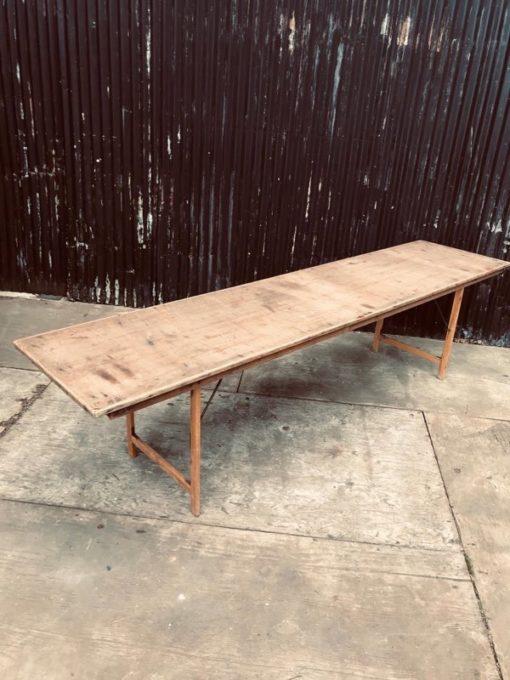 klaptafels van stad Antwerpen vintage retro old school terras outdoor furniture_thegoodstufffactory_Be