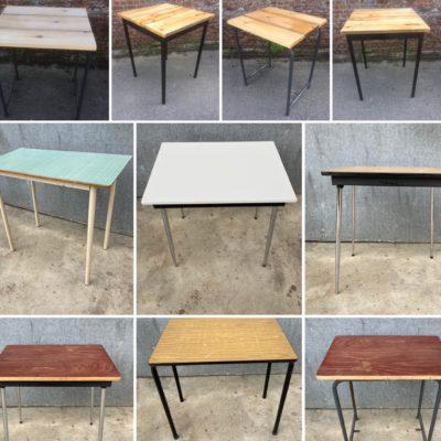 HORECA tafels tables tabels interieur exterieur seventies sixties industrial canteens retro ostalgie cowork vintage retro