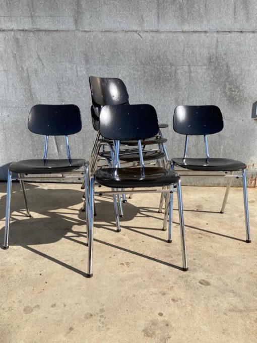 KHO LIANG LE LWvintage ostalgie industrial antiques sixties seventies chair chaise stuhl stolar_thegoodstufffactory_Be