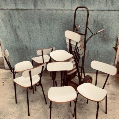 formica sixties black cowork vintage retro