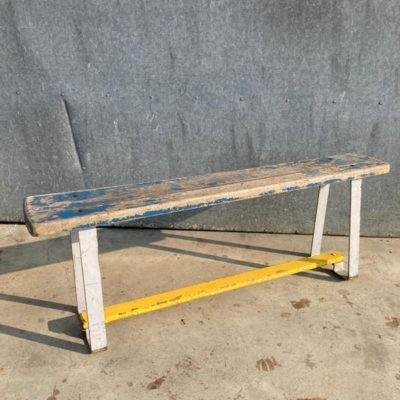 vintage bench retro industrial antiques ostalgie stolar jegfremsnakker seventies_the good stuff factory