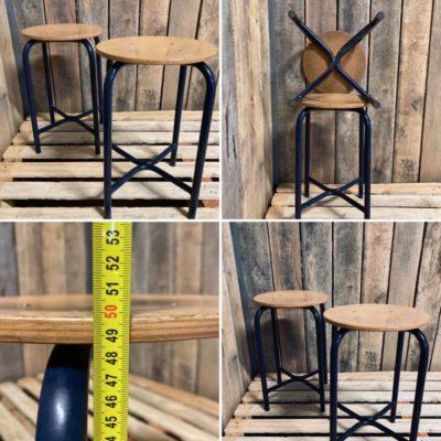STOOL retro ostalgie stuhl stolar chaise vintage industrial antiques_thegoodstufffactory_be