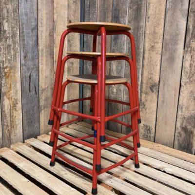 krukken tabourets kookeiland ostalgie vintage retro stool_thegoodstufffactory