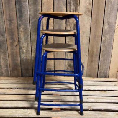 litulo li-tabourets li pheha sehlekehlekeng sa ostalgie vintage retro stool_thegoodstufffactory